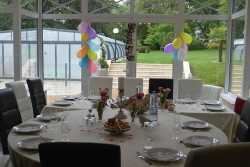 fête anniversaire salle