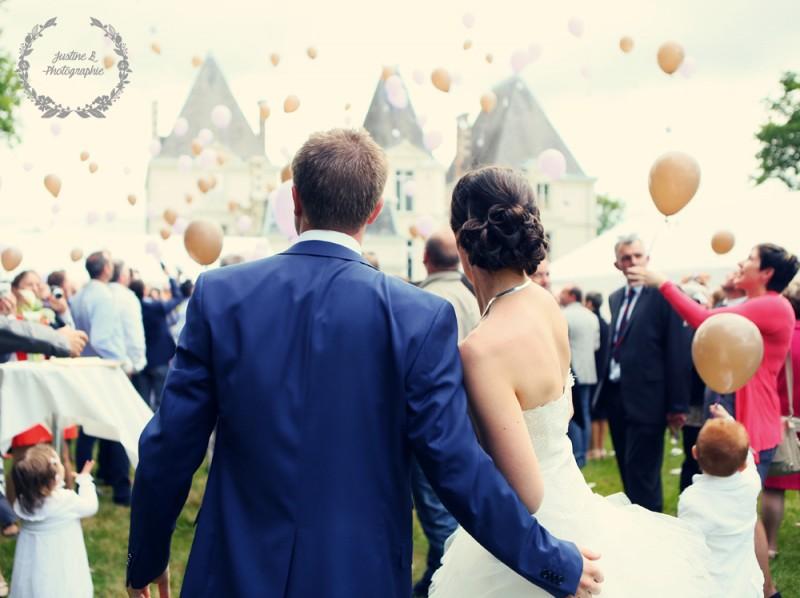 Mariage et réception Chateau Gontier